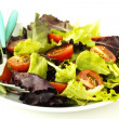 Fresh salad on a plate — Stock Photo #18337517