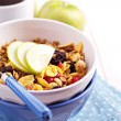 Granola with nuts and fruits — Stock Photo #18338155