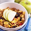 Granola with nuts and fruits — Stock Photo #18338193