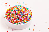 Colorful sprinkles — Stock Photo