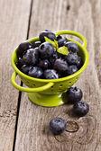 Fresh blueberries — Stock Photo