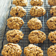 Pumpkin oat cookies — Stock Photo #35552879