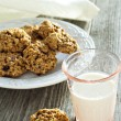 Pumpkin oat cookies — Stock Photo #35552893