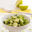 Fresh cucumber salad — Stock Photo