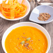Carrot ginger soup — Stock Photo #35636597