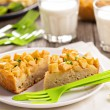 Stock Photo: Savoury cake with potatoes