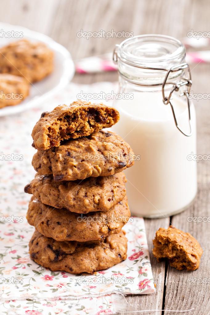 овсяное печенье рецепт с молоком