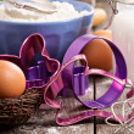 Baking for Easter — Stock Photo