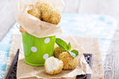 Vegan risotto arancini — Stock Photo