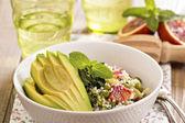 Couscous med grönsaker — Stockfoto
