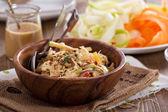 Raw pad thai salad — Stock Photo