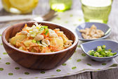 Potato salad with carrot and celery — Stock Photo