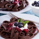 Chocolate pasta — Stock Photo #43681997