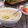 Vegetables and corn chowder — Stock Photo #48936427