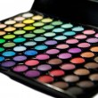 Makeup set. Professional multicolor eyeshadow palette — Stock Photo #13132532