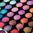 Makeup set. Professional multicolor eyeshadow palette — Stock Photo #13132545
