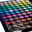 Makeup set. Professional multicolor eyeshadow palette — Stock Photo #13132601