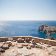 Greek islands - Rhodes, Lindos bay — Stock Photo #13175740