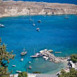 Greek islands - Rhodes, Lindos bay — Stock Photo #13175758