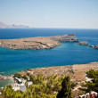 Greek islands - Rhodes, Lindos bay — Stock Photo #13175779