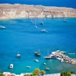 Greek islands - Rhodes, Lindos bay — Stock Photo #13175801