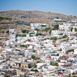 Royalty-Free Stock Photo: Aerial view of the town in Greece