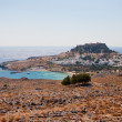 Akropolis von Lindos - Stock Photo