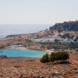 Akropolis von Lindos — Stock Photo