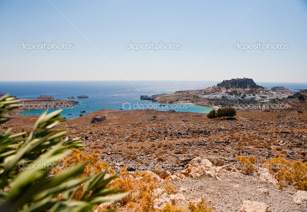 Akropolis von Lindos — Stock Photo #13175853