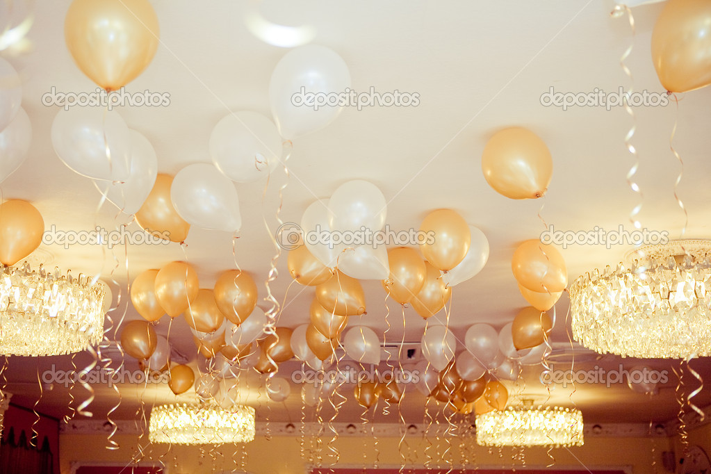 Yellow Gold And White Birthday Party Decorations