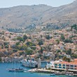 Greece  Dodecanesse  Island Symi - Stock Photo