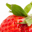 Strawberry on white background — Stockfoto