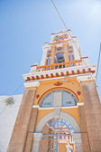 Symi church tower — Stock Photo