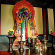 Stock Photo: Palden Lhamo statue in temple
