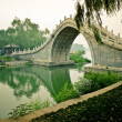 Royalty-Free Stock Photo: An Arch Bridge at The Summer Palace.