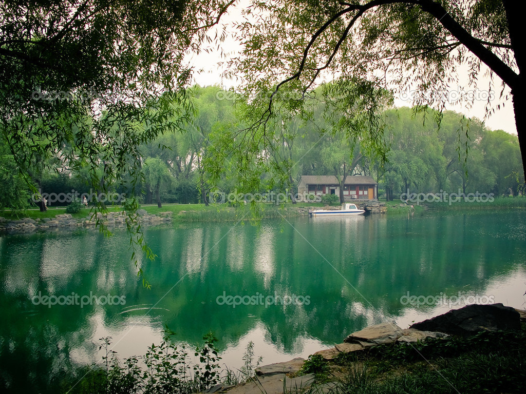 Summer Palace in Beijing, China   Stockfoto #13516543