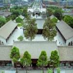 Park near Giant Wild Goose Pagoda Xian, China. — Stock Photo #13735664
