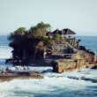 Tanah Lot Temple on Sea - Stock Photo