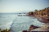 Coast of Indian ocean Bali, Indonesia — Stock Photo