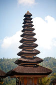 Озеро Ulun Дану братан храм — Стоковое фото