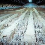 The famous terracotta warriors of Xian — Stock Photo #17988263
