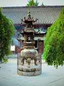 A buddhist temple in China — Stock Photo