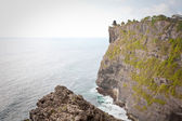 View of Pura Uluwatu temple, Bali — Stock Photo