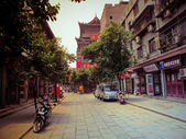 Luoyang town in China, Henan province — Stock Photo