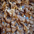 Chinese antique wooden carving — Stock Photo