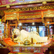 Buddha statue at Jade Buddha temple in Shanghai, China - Photo
