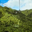 Cable car. Mountains of Honk Kong — Stock Photo