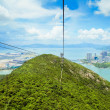 Stock Photo: Mountain Cableway
