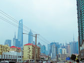View of street in Hong Kong — Stock Photo