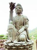 Statue of Buddha in Po Lin-Monastery — Stock Photo